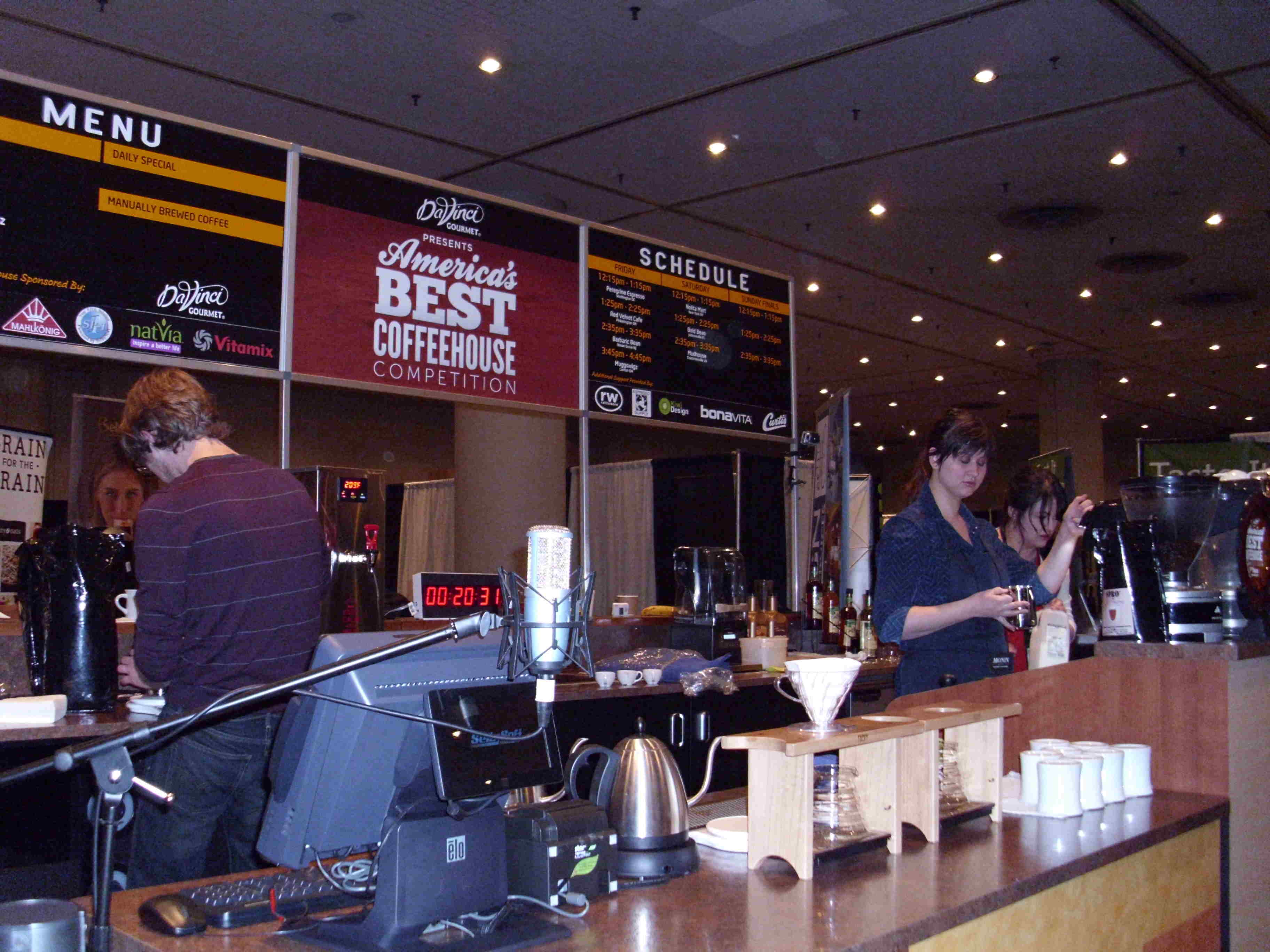 Muggswigz Competing at America's Best Coffeehouse Competition
